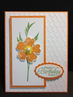 My Creative Corner!: Flower Shop meets Fabulous Florets Birthday Card