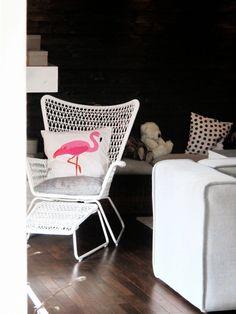 ....so ein schöner Ikea-Sessel...