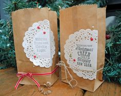 Christmas Wrapping Bags Cathy Caines