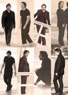 [everything bale]: Photo Batman Begins, British Actors, American Actors, Chris Bale, Knight Of Cups, Dark Knight, Batman Christian Bale, Fantasy Male, Film Music Books