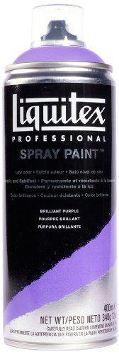 Liquitex Professional Spray Paint 400 ml, Brilliant Purple Liquitex http://www.amazon.co.uk/dp/B008LUIX3M/ref=cm_sw_r_pi_dp_pHMUub0NW9XQ4
