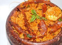 Cucinare che Passione: Riso nigeriano con pesce e gamberi