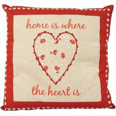 HOME SWEET HOME CUSHION - Home & Furniture | Poundstretcher