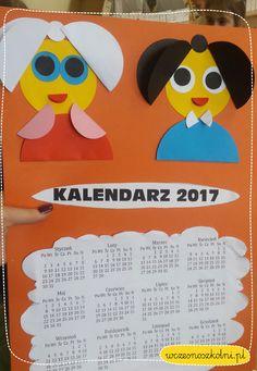 Kalendarz dla Babci i Dziadka z okazji ich święta!