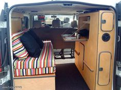 Opel Vivaro Camper 1.9 CDTI largo 6 plazas: