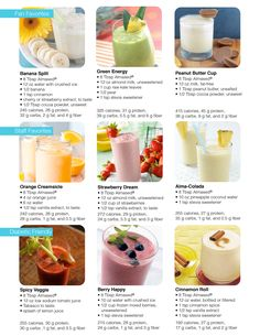 Check out a few of our Almased shake ideas. What are some of yours? #almasedshakes