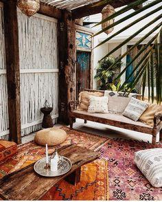 Boho style #bohodecor #bohochic #outdoordecor #bohemianstyle #moroccanvibes #outdoorliving #inspiration #getoutside #OLMag