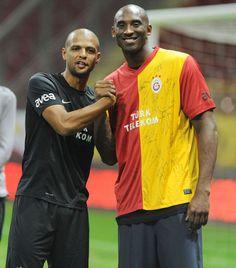 Kobe with Galatasaray Jersey