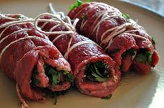Our Italian Kitchen: Bracciole italian recipes Beef Dishes, Pasta Dishes, Food Dishes, Meat Recipes, Dinner Recipes, Cooking Recipes, Dinner Entrees, Italian Dishes, Italian Recipes