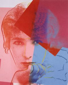 Andy #Warhol | Sarah Bernhardt (1980) | Artsy ~ETS Social Art From The Obsolete by Nick Gentry. ♣️Fosterginger.Pinterest.Com♠️ More Pins Like This One At FOSTERGINGER @ PINTEREST No Pin LimitsFollow Me on Instagram @  FOSTERGINGER75 and ART_TEXAS