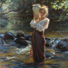 """""""Drawn from Within"""" - by Danial Gerhartz, oil - 60in x 60in"""