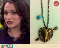 Max's cat with bow tie sweater on 2 Broke Girls Hair Jewelry, Jewelry Box, Jewelery, Jewelry Making, Black Necklace, Turquoise Necklace, Arrow Necklace, Max Costume, Two Broke Girl