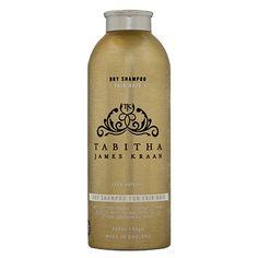 TJK Organic Dry Shampoo for Fair Hair
