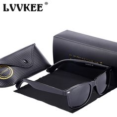 d34ebda3076 FuzWeb Hot LVVKEE classic Polarized Sunglasses Men Women Vintage UV400 rays  Driving Male