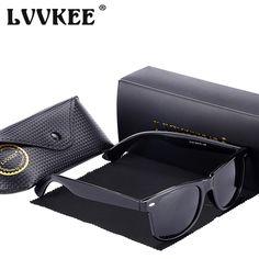 d98d3c971ff FuzWeb Hot LVVKEE classic Polarized Sunglasses Men Women Vintage UV400 rays  Driving Male