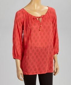 Look what I found on #zulily! Clementine Juliette Tunic by Nomadic Traders #zulilyfinds