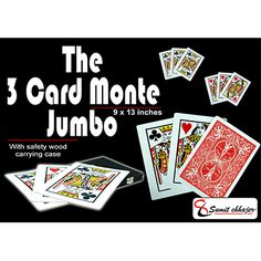 3 card monte without gimmick