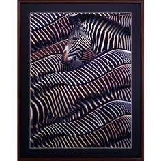 Obraz 72x92cm - zebry