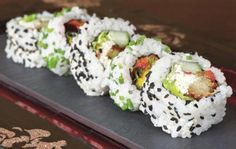 Wine Director of The Ritz-Carlton, Tysons Corner, Vincent Feraud, suggests to pair champagne with your sushi roll. Try his Champagne Special when you join for Sushi Thursdays.