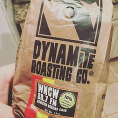 Dynamite Roasting Co. Will be my Saturday morning brew