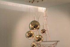 Tom Dixon Mirror Ball in gold I Salone Del Mobile 2014