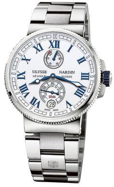 Ulysse Nardin Marine Chronometer Manufacture 1183-126-7M/40