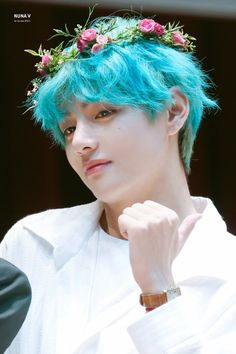 147 Best Kim Taehyung Blue Hair Images Taehyung Kim