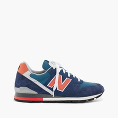 We've been fans of the New Balance 996 for a while (over 20 years, in fact). So to celebrate one of the brand's best-loved shoes, we collaborated on an exclusive colorway you'll only find here. <ul><li>Unisex sizing: Women, please order two sizes smaller than your regular size.</li><li>Suede, mesh upper.</li><li>Removable footbed inserts.</li><li>Rubber sole with New Balance's trademark tread pattern.</li><li>Made in the USA.</li></ul>
