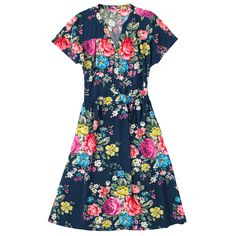 Hampstead Rose Crepe Dress | Partywear | CathKidston