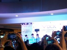 VIXX Live FantAsia UTOPIA || mall show at SM Fairview, Philippines || May 01 2015  they're effin real!! I saw them!! #glimpse