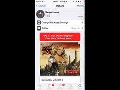 iOS Tweak: Swipe Home for iOS 9 (Kill all apps) - YouTube