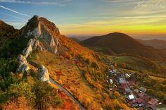 Autumn morning on Vrsatec