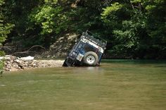 Land Rover Defender That terrible sinking feeling!