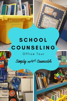 5 Rules for Maximizing Your School Counseling Office – Elementary 5 Rules for Maximizing Your School Counseling Office – Elementary,Counseling Elementary School Counseling Office Tour – Find out how to maximize and organize. School Counselor Organization, School Counselor Office, Middle School Counseling, Elementary School Counselor, Elementary Schools, Office Organization, School Classroom, Classroom Decor, Social Work Offices