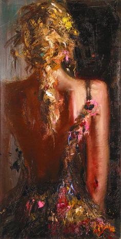 Pintura de Mstislav Pavlov - Rússia