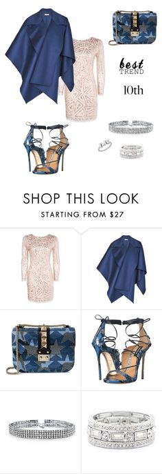 """Celebrate Our 10th Polyversary!"" by gubse-oz ❤ liked on Polyvore featuring Boohoo, Burberry, Valentino, Dsquared2, Bling Jewelry, Sole Society, polyversary and contestentry"
