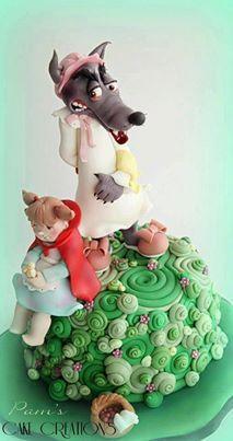 Caperucita Roja Cake