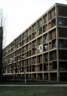 INA Casa Harrar/Figini, Milan 1951-55 // by Figini, Luigi & Gino Pollini