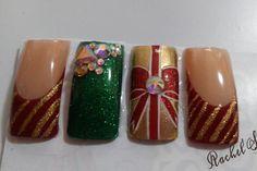 Navidad!!! Diva, Nails, Xmas, Finger Nails, Ongles, Divas, Nail, Godly Woman, Nail Manicure