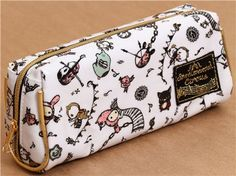 white Sentimental Circus pencil case circus deco from Japan