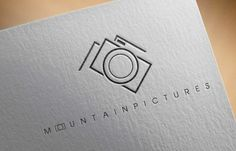 Mountain Pictures provide a service photographing people on their ski breaks. They wanted a smart, clean logo that included both elements of their service.