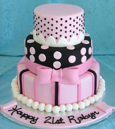Image result for pretty birthday cakes
