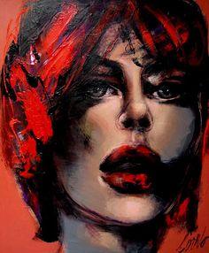 Joanne Corno, 1301 Portrait with red (http://www.thompsonlandry.com/artists/a_corno.html)