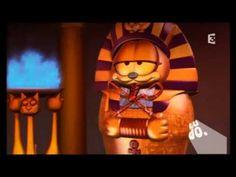 12 min - Garfield & Cie - Les Egyptochats (1 ère partie) Garfield Odie, Film D, Gif Animé, Brain Breaks, Video Clip, Iron Man, Anime, Ipad, France