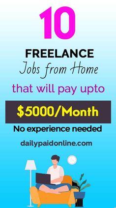 Jobs From Home Legit, Online Jobs From Home, Online Work, Earn Money Online Fast, Earn Money From Home, How To Make Money, Online Cash, Online Data Entry Jobs, Online Writing Jobs