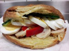 Cheese pie sandwich