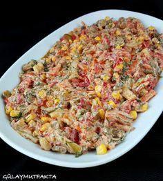gülay mutfakta: Yoğurtlu Sebze Salatası