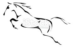stock-illustration-24182562-black-and-white-vector-outlines-of-jumping-horse.jpg 380×247 pixels