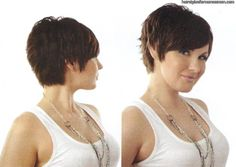 Image detail for -short shaggy hairstyles for women over 50