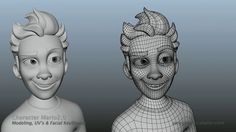 SergiCaballer - Mario2.0 by Sergi Caballer Garcia. Freelance Work: Character modeling and facial shapes modeling for an online animation school' main character.